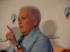 USAID Administrator Gayle Smith during a Panel on U.S. Government and Emerging Markets at GES2016 (Power Africa) Tags: usaid energy entrepreneurship entrepreneurs offgrid powerafrica ges2016