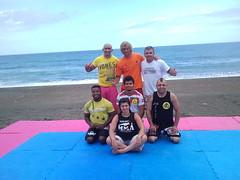 Entreno Libre en La Playa de Azkorri Getxo 15-08-2012 equipo Team Jucao Spain Cleyton Bastos