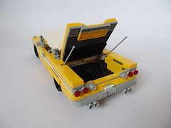 1959 Edsel Ranger (Capacinio) Tags: ford car yellow lemon lego awesome edsel fresh scent 1959 lugnuts moc capacinio