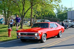 Knoxville Show 5-9-15 018 1969 Chevy Nova SS Red (SpeedProPhoto) Tags: chevrolet nova ss chevy knoxvilleshow5915