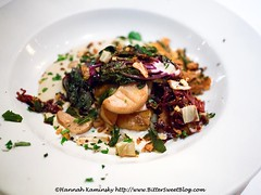 Gnocchi and Mushrooms (Bitter-Sweet-) Tags: sanfrancisco california food dinner mushrooms restaurant vegan healthy downtown pasta potato meal bayarea organic gnocchi savory finedining eatingout umami gearyst