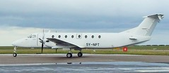 5Y-NPT Beech 1900C  arrives at Wick to nightstop (terence.stilgoe) Tags: beech caithness 1900c wickairport 5ynpt