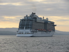 Royal Princess arriving off Greenock (neilwhite483) Tags: cruiseship princesscruises royalprincess mvroyalprincess
