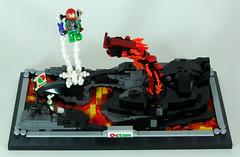 Yetornius Lava Wyrm 2 (mrcp6d) Tags: lava lego space wyrm octan