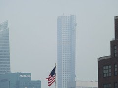 View of 432 Park Avenue Skyscraper from Whitney Museum, New York City (lensepix) Tags: skyscraper newyorkarchitecture newyorkskyscraper 432parkavenue 432parkavenueskyscraper