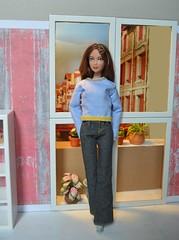 Sunset Diorama (ElenaDolls) Tags: sunset barbie diorama benetton repaint