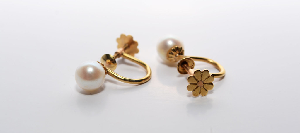 b197a0b7e8ad Aros de oro (Nicolás Lomongiello) Tags  aros perla oro perlas joyas aritos  aritod