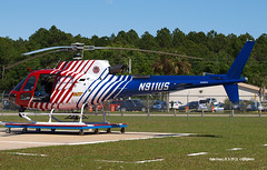 150329_65_N911US (AgentADQ) Tags: show county coast wings florida aviation air over palm airshow helicopter 350 flagler dept eurocopter b3 2015 as n911us