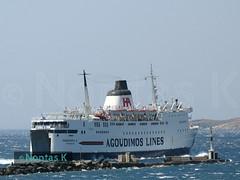 AGOUDIMOS-Επιβατηγό-Οχηματαγωγό ΠΗΝΕΛΟΠΗ Α 3_άφιξη από Μύκονο (Nontas K) Tags: sea summer sky sun ferry island ship hellas july 2006 greece transports publictransport cyclades tinos ελλάδα καλοκαίρι θάλασσα νησί πλοίο ουρανόσ κυκλάδεσ ήλιοσ τήνοσ συγκοινωνία penelopea μεταφορέσ συγκοινωνίεσ ιούλιοσ agoudimoslines nontask πηνελοπηα