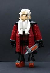 Balin (Pate-keetongu) Tags: lego dwarf lotr hobbit tolkien dwarves moc balin kenstott