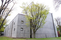 Hirosaki Civic Hall (ELCAN KE-7A) Tags: japan hall pentax aomori  hirosaki  2016  kunio  maekawa    k5s