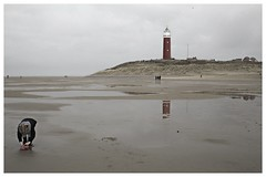 Eierland Lighthouse texel (M inspired by nature) Tags: lighthouse beach treasure vuurtoren texel keeper refelections eierland