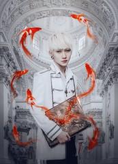 Million Years Ago (Redeath_Shad) Tags: white magic prince million koi ago years
