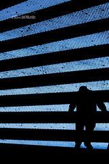 La vida es una interferencia (A 50mm del Mundo) Tags: espaa naturaleza color azul persona calle arquitectura europa gente streetphotography ciudad bilbao personas escalera cielo urbana fujifilm streetphoto material silueta bizkaia siluetas euskadi hombre escaleras deusto desconocida fotografa hierro geografa serhumano streetshooting xpro2 diegojambrina a50mmdelmundo