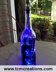 Slash Guns N Roses Velvet Revolver (TCM Creations) Tags: slash roses glass lamp les bar paul bottle pub wine vinyl velvet led guns decal revolver gibson mancave
