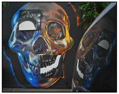 FANAKAPAN (StockCarPete) Tags: streetart skull wallart londonstreetart fanakapan