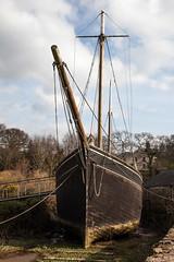 Waiting to Load (TheGrumpyBear) Tags: england history museum port river mine victorian tourist quay historic copper morwellham
