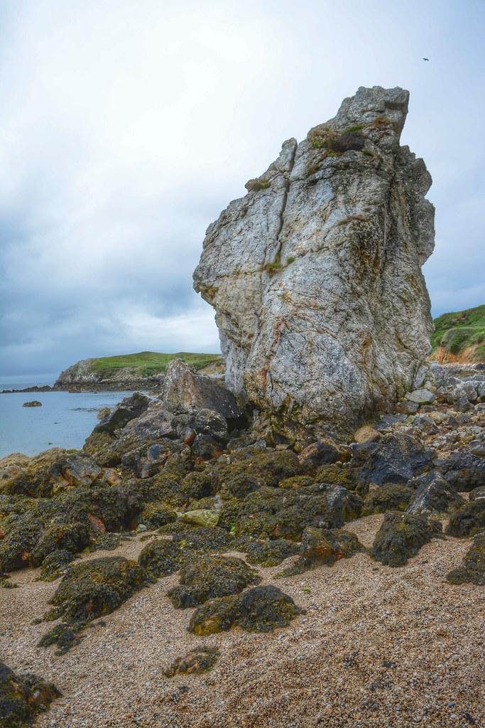 The White Lady rock.