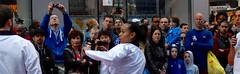 NY City Crowd (conceptual) Tags: new york people ny newyork us team do gente martial manhattan yok crowd arts taekwondo olympic multitud tae nueva kwon demostration