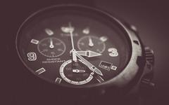 HMM - time-7849 (EbE_inspiration) Tags: blackandwhite white black macro monochrome time watch macromondays