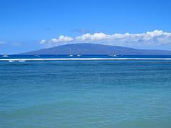 Lanai (altfelix11) Tags: ocean clouds hawaii maui pacificocean lahaina lanai