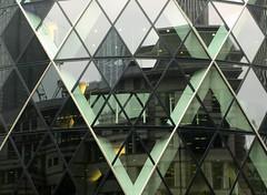 (Max Nathan) Tags: uk england urban reflection london glass architecture skyscraper cities capitalism urbanism gherkin 30stmaryaxe thegherkin cityoflondon 645pro iphone6s