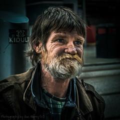 John (Fiverdog) Tags: street portrait manchester homeless streetphotography dragan splittone homelessman draganeffect buryphotographicsociety burypsstreetsig buryps
