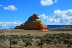 On the road to Moab (dylangaughan43) Tags: vacation usa utah desert rockformations