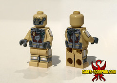 Fallout 4 Synth (Saber-Scorpion) Tags: lego institute synth minifig fallout moc postapocalyptic minifigures postapoc fallout4