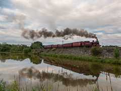 Reflection (alanrharris53) Tags: reflection train rail steam met1 charter preservation butterley