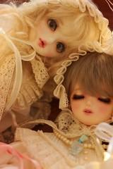 Tiana & vioreta (fever _) Tags: doll bjd abjd msd bluefairy tinyfairy daydreamdoll