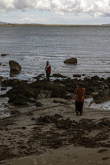 Islay 2016 2 (24) (Yorkshire Reckless & Proud) Tags: blue shadow sea people musician cloud sun lighthouse black bird beach birds silhouette vw landscape scotland boat ship harbour cottage sails tent islay seal duster van camper distillery orsay bowmore bruichladdich dacia