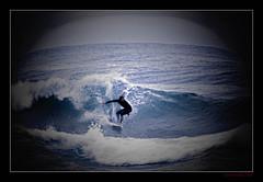 Rider (Seeing Things My Way...) Tags: surf surfer wave breaker beach coast sea ocean nsw royalnationalpark gariebeach australia