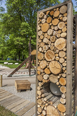 Pile Of Wood Logs (AudioClassic) Tags: tree nature forest woodland design pattern village timber candid stack treetrunk backgrounds environment material rough ideas heap variation textured woodpile groupofobjects ruralscene lumberindustry shortlength woodmaterial wallbuildingfeature