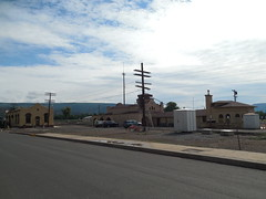 The Train Depot (jimmywayne) Tags: railroad newmexico train downtown raton historic depot colfaxcounty