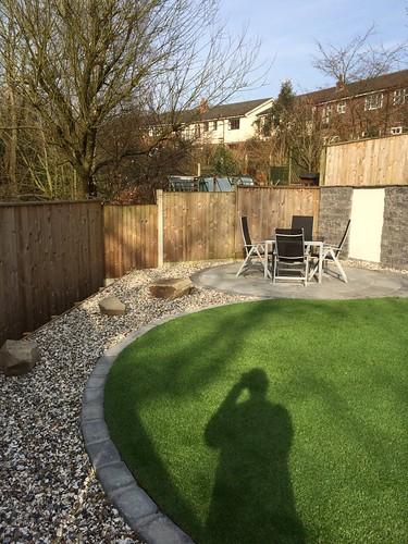 Landscape Gardening Macclesfield - Modern Family Garden Image 1