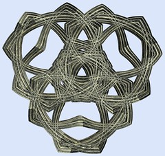 3 Tori / () (TANAKA Juuyoh ()) Tags: torus     mathematica 3d cg parametricplot3d texture code program algorithm abstruct graphic design pattern structure mapping figure                     symmetry
