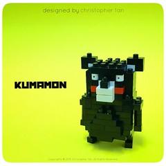 nanoblock Kumamon (inanoblock) Tags: building japan lego bricks blocks build kumamoto kawada brickartist nanoblock  nanoblocks kumamon