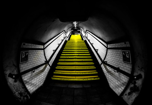 Kennington Underground London by Simon & His Camera