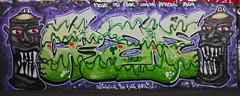 Crede (cocabeenslinky) Tags: street city uk england urban streetart london art writing lumix graffiti paint artist photos destruction character south united capital letters creative may kingdom tunnel can spray east panasonic waterloo characters graff leake se1 artiste 2015 crede dmcg6 cocabeenslinky
