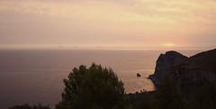 Eolie da Capo Zafferano (vincenzo martorana) Tags: dawn alba sicily monte eolie bagheria capozafferano catalfano