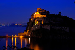 bluehour castle (lachesis2005) Tags: tower castle torre bluehour ischia castello guevara aragonese cartaromana