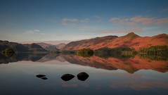 Derwent Water from Friar's Crag (Andrew Hilton) Tags: lake water reflections district national cumbria trust keswick catbells friars crag derwnt