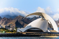 Auditorio - Sta. Cruz de Tenerife - II (Julin Martn Jimeno) Tags: santa espaa costa mar nikon playa canarias auditorio cruz tenerife islas 2014 d5100