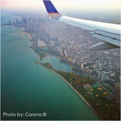 """""""Love the Iconic Chicago Skyline 2nd to none. 01""""- Title #Adventure Time #CHI #Chicago #IL #Illinois  #Photography #Photo #Artist #ArtFido #Art #Fly #Plane #Sky #Skyline #Building  #ExploreChicago #architecture #ArtIsEveryWhere Photo by: Corona :copyright (5thCorona) Tags: square squareformat hudson iphoneography instagramapp uploaded:by=instagram"""