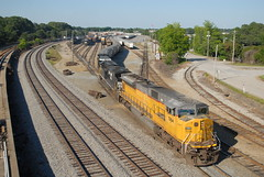 NS 48D 5/23/15 Pic 3 (tjtrainz) Tags: industry ex up yard train ga georgia point pacific ns district union norfolk central grain trains east southern crown division triple griffin loaded manifest cofg mainline es44dc sd90mac c408 sd9043mac 840c 48d