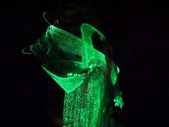 ThinkerBelle fibre optic EEG dress (Rain Rabbit) Tags: technology dress wearables eeg wearable emotive optic fibreoptic fibre fibreopticdress thinkerbelle emotivewearables eegdress thinkerbelleeegdress