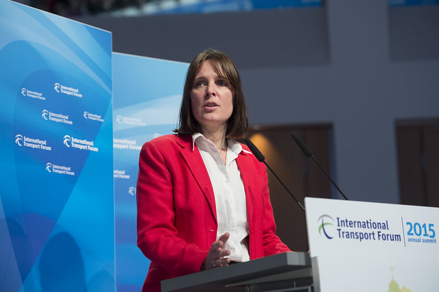 Sophie Punte speaking during the Open Ministerial Session