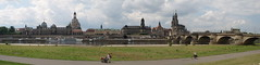 Panorama Dresden (serialcouleur) Tags: panoramiques dresden villes histoire saxe frauenkirche elbe horizon analogic baroque