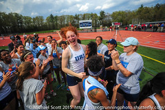 URI Women's Track & Field celebrates third consecutive New England title in 2014 (urimiscott) Tags: usa sports athletics champion victory celebration win mass excitement westfield rhody trackfield universityofrhodeisland rhodeislandathletics